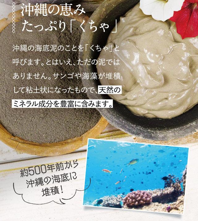 沖縄の恵み たっぷり「くちゃ」